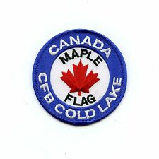 RCAF CAF Canadian Maple Flag CFB Cold Lake Colour Crest Patch