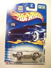 Hot Wheels 1:64 scale Chevy Corvette Stingray, silver, Mattel Wheels, 2003, 3/42