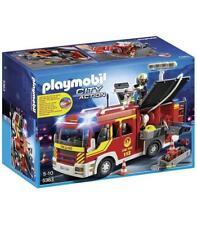 Camion bomberos con luces y sonidos Playmobil