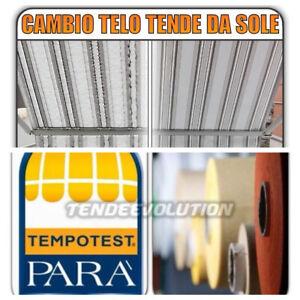 CAMBIO TELO SU MISURA TENDA SOLE TESSUTO TEMPOTEST PARA' CUCITO TERMOSALDATO