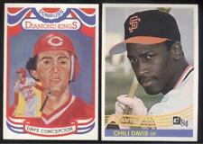 BUY 1, GET 1 FREE - 1984 DONRUSS BASEBALL - YOU PICK #1 - 200 - FREE SHIPPING