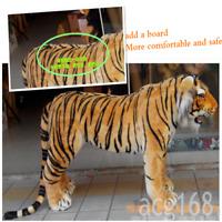 2020 Giant Simulation Tiger Plush Soft Big Ride Tiger Toy Kid Gift 125cm*60cm UK