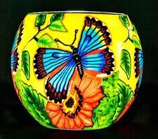 Benaya Glass Nightlight Tealight Holder - Butterfly Beauty
