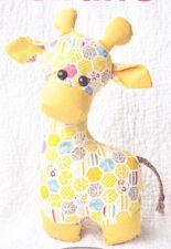 PATTERN - Gerald the Giraffe - softie/toy PATTERN - Sweetbriar Sisters