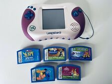 LeapFrog Leapster 2 Learning System w 5 Cartridges 4 Disney 1 Learning Game