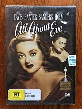 All About Eve DVD Region 4 New & Sealed Bette DAVIS Anne BAXTER George SANDERS