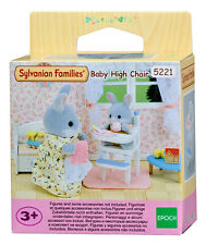 New! 5221 Sylvanian Families Baby High Chair & Accessories Children Girls Age 3+