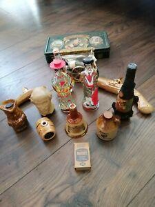 20 Vintage Collectable Miniature Bottles