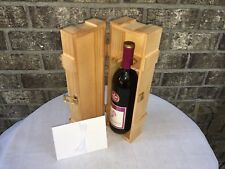 Love Letter Ceremony Wine Box, Wedding Wine Box. Stained & Varnished