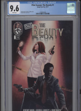 PILOT SEASON THE BEAUTY #1 NM 9.6 CGC WHITE PAGES JEREMY HAUN STORY COVER AND AR