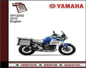 Yamaha XT1200Z XT1200 2010 Service Repair Workshop Manual
