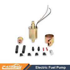 New E8012S Universal Low Pressure Electric Fuel Pump With Installation Kit 12V