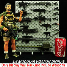 """1/6 Scale Display Stand CZ Toys Weapon Rifle Model Wall (Not Gun) Fit 12"""" Figure"""