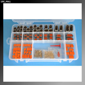 330 PCS DEUTSCH DTM Professional Connector Kit & Tools (Made in USA)
