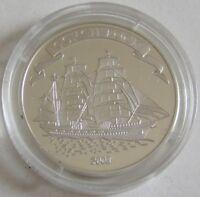 Palau 2 Dollars 2008 Schiffe Gorch Fock Silber
