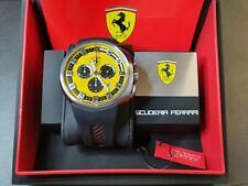 Ferrari F1 Podium Quartz Chronograph Uhr Watch 270033658 UVP €520