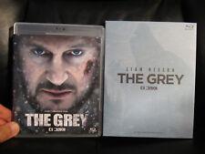 The Grey Blu-Ray Plain Archive Keep Case w/Slip Cover [Korea] Region A