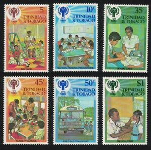 Trinidad and Tobago Intl Year of the Child 6v 1979 MNH SG#532-537