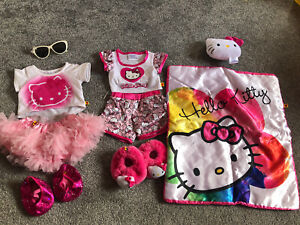Build A Bear Hello Kitty Bundle