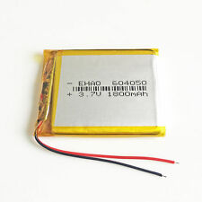3.7V 1800mAh 604050 LiPo polymer Battery cells For camera DVD GPS PAD CAMERA PSP