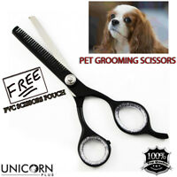 PROFESSIONAL DOG GROOMING THINNING SCISSORS HAIR EAR FACE TRIMMING  PET SHEARS