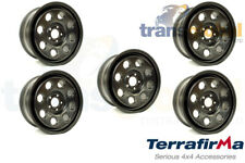 "TERRAFIRMA 18"" 5 Stud HeavyDuty Modular Steel Wheel X4 Fits Land Rover Disco 3"