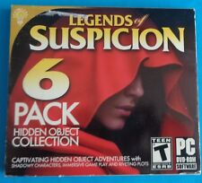 Legends of Suspicion 6 Pack DVD Hidden Object Collection New Sealed