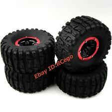4pcs RC Air Pneumatic Tires OD 135mm & 2.2 Beadlock Wheels For RC Crawler Truck