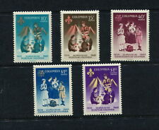 Colombia 1962  #746, C435-8  scouting scouts   5v.  MNH  G105