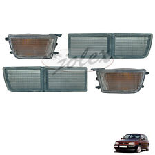Blende Reflektor mit Blinker vorne weiß rechts+links Set Satz Paar VW Golf 3 NEU