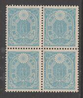 Japan 1937 WMK D mnh NO gum 50s fiscal revenue  stamp 12-2- scarce mint & WMK