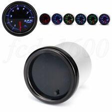 "Universal 2"" Inch Digital Pointer Car Tachometer 0-8000 RPM Gauge 7 Color LED 1x"