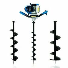 SGS 52cc Petrol Earth Auger / Fence Post Hole Borer / Ground Drill