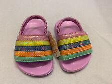 Wonder Nation Baby Sandals Shoe Size 2 Purple Flip Flops