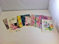 Greeting Cards Lot of 19 Happy Birthday Sender Message Inside Use For Crafting
