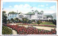 1919 Santa Barbara, CA Postcard: Potter Hotel - California