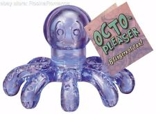 Octo-Pleaser Waterproof Massager Aches Sensual Relaxing Stress Reliever Octopus