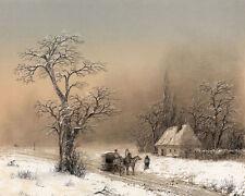 Winter Landscape Ivan  Aivazovsky Konstantinovich  24' CANVAS