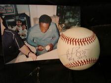 Angel Berroa R.O.Y. 2003  Autograph / Signed OML Baseball Kansas City Royals