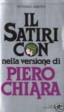 Petronio Arbitrio# IL SATIRICON # Mondadori 1980 1A ED.