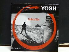 YOSH Fistful of lies CD Sampler de l album 14 titres Cardsleeve