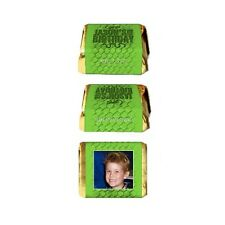 30 Reptile Lizards Snakes Theme Birthday Party Favor Personalized Nugget Labels
