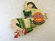 BARCELONA,Hard Rock Cafe Pin,6TH Ann LE SEXY GIRL XXX