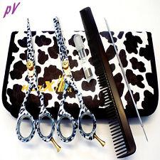 "Professional Hairdressing Haircutting SCISSORS 5.5"" Barber Shears SET Salon KIT"
