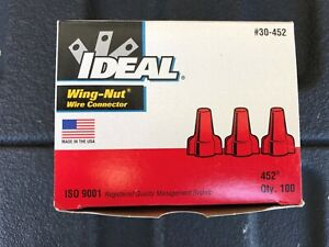 Ideal Red Wire (wing) Nuts   (Qty)  100