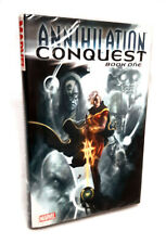 Marvel Comics ANNILHATION CONQUEST Hardcover GRAPHIC NOVEL, GOTG, WARLOCK NICE!