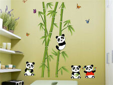 Panda bamboo Home Decor Removable Wall Sticker Decal Decoration Vinyl Mural