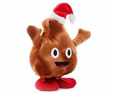 Winter Wonder Lane Poop Emoji Singing Dancing Large Poo Face Plush Emoticon