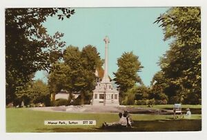 MANOR PARK IN SUTTON, NEW FRITH POSTCARD