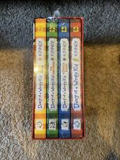 Diary of a Wimpy Kid Box of Books (1-4) Brand New In Sealed Packaging